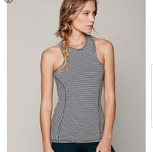 Olympia Activwear Black And White Tank Top